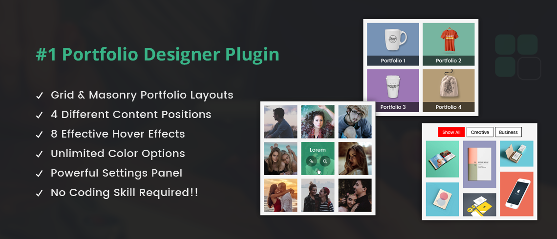 Wordpress Plugin: Portfolio Designer Lite – WordPress Plugin
