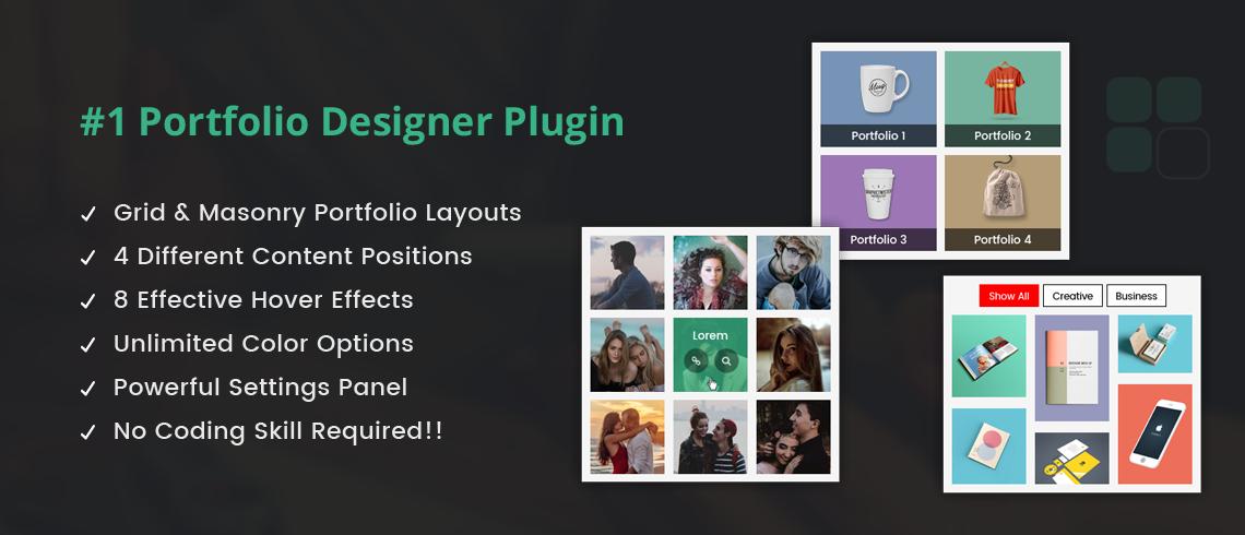 Solwin Infotech Wordpress Extension: Portfolio Designer Lite – WordPress Plugin