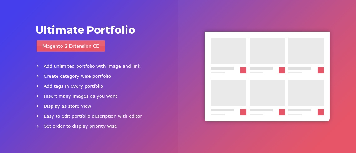 Magento Extension: Ultimate Portfolio – Magento 2 Extension