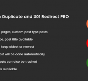 WordPress: Trash Duplicate and 301 Redirect PRO – WordPress Plugin