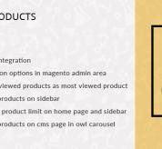 Magento Premium extension - Most Viewed Products – Magento 2 Extension