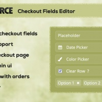 Wordpress Premium plugin - WC Checkout Fields Editor WordPress Plugin