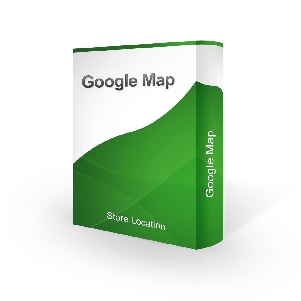Prestashop Extension: Google Maps Store Locator - Prestashop 1.6 / 1.7