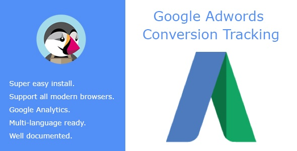 Prestashop Extension: Google Adwords Conversion Tracking
