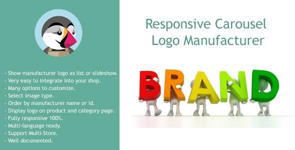 bonpresta Prestashop Extension: Responsive Carousel Logo Manufacturer