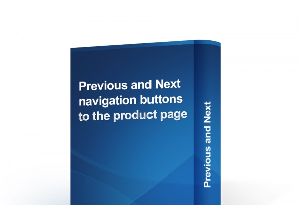 bonpresta Prestashop Extension: Previous and Next navigation buttons