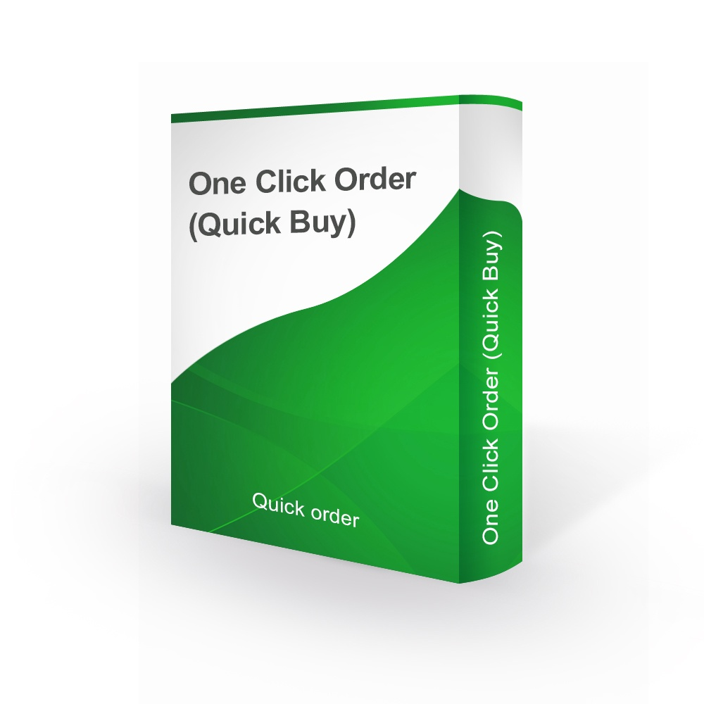 bonpresta Prestashop Extension: One Click Order (Quick Buy) - PrestaShop 1.7.x / 1.6.x