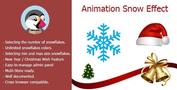 bonpresta Prestashop Extension: Animation Snow Effect