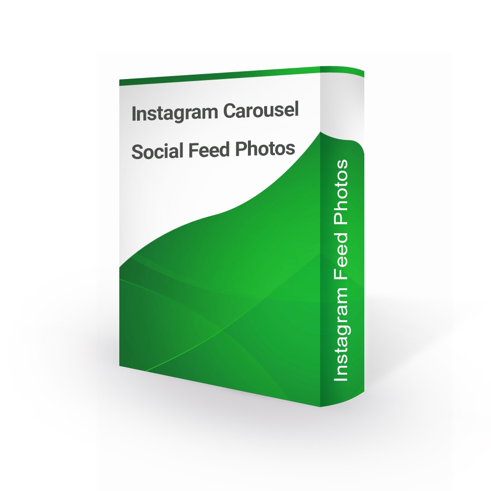 Prestashop Extension: Easy Instagram Carousel Social Feed Photos - PrestaShop 1.6 / 1.7
