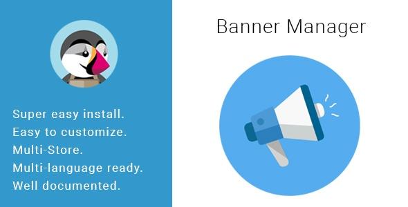 bonpresta Prestashop Extension: Banner Manager