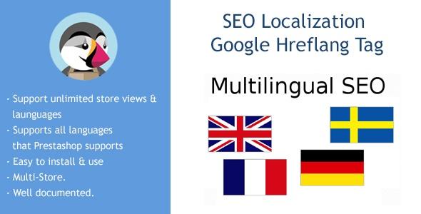 bonpresta Prestashop Extension: SEO Localization Google Hreflang Tag