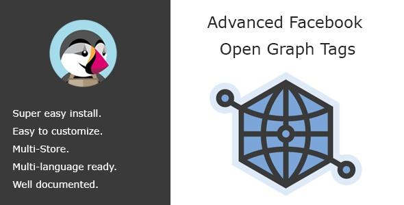 bonpresta Prestashop Extension: Advanced Open Graph Tags