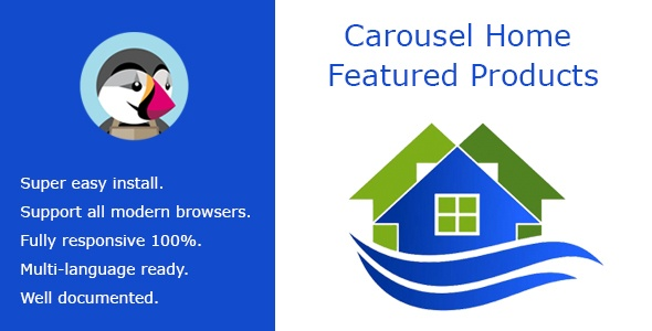 Prestashop Extension: Carousel Home Featured Products