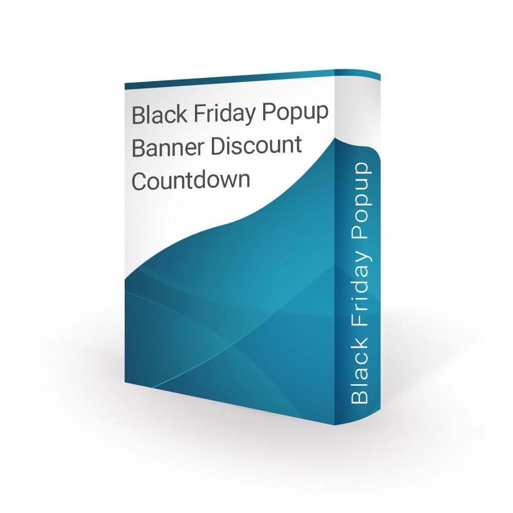 bonpresta Prestashop Extension: Black Friday Popup Banner Discount Countdown - PrestaShop 1.6 / 1.7
