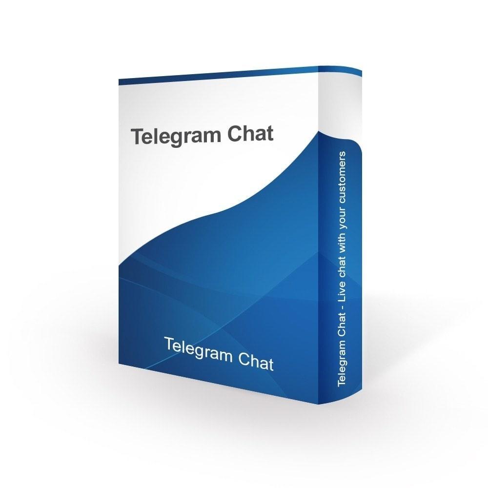 bonpresta Prestashop Extension: Telegram Chat - Live chat with your customers