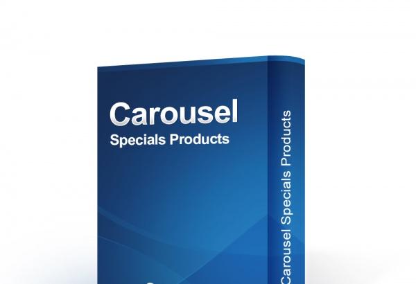 bonpresta Prestashop Extension: Carousel Specials Products