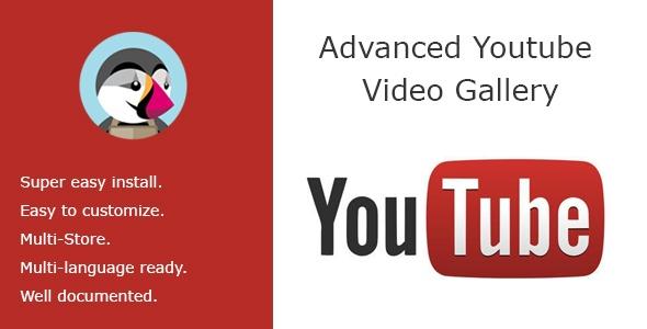 bonpresta Prestashop Extension: Advanced Youtube Video Gallery