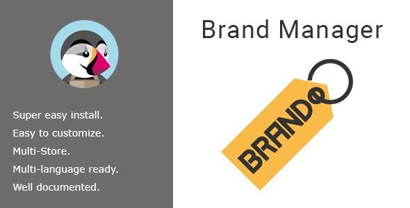 bonpresta Prestashop Extension: Brand Manager