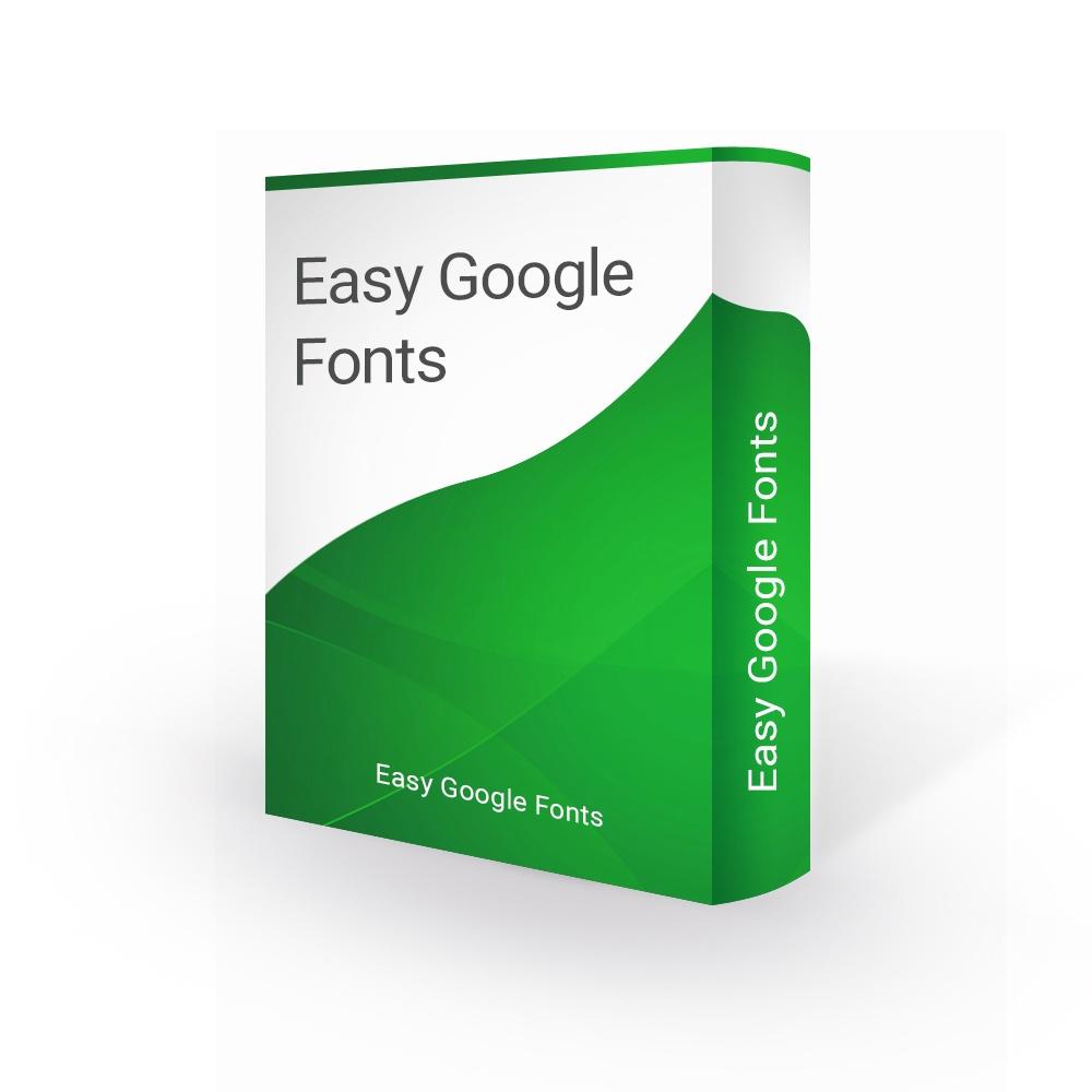 bonpresta Prestashop Extension: Easy Google Fonts