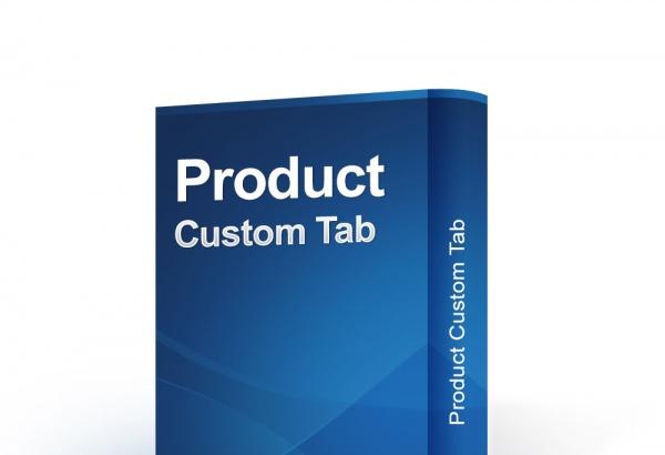 bonpresta Prestashop Extension: Product Custom Tab