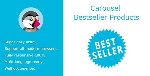 Prestashop Extension: Carousel Bestseller Products