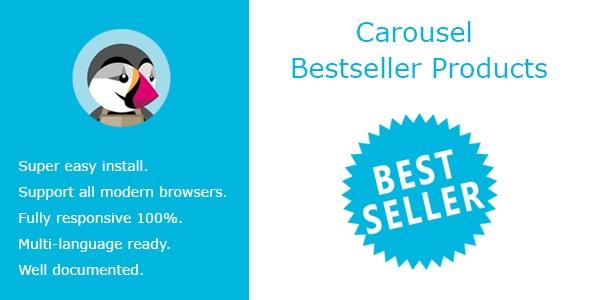bonpresta Prestashop Extension: Carousel Bestseller Products