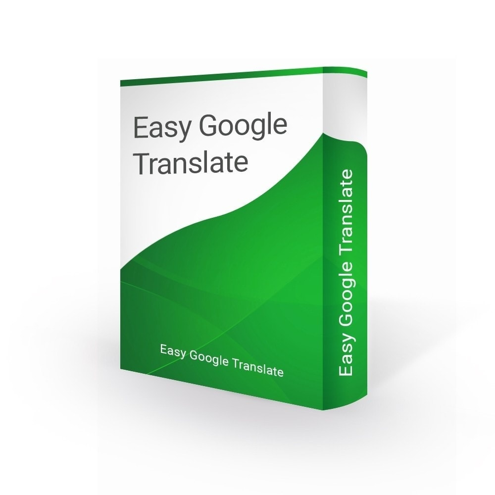 Prestashop Extension: Easy Google Translate 105 Languages & Google Analytics - PrestaShop 1.6 / 1.7