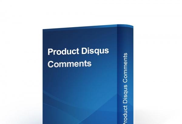 bonpresta Prestashop Extension: Product Disqus Comments & Reviews