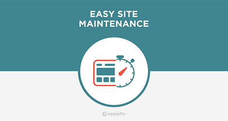 AppJetty Magento Extension: Magento Easy Site Maintenance Extension
