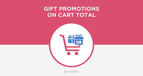 AppJetty Magento Extension: Magento Gift Promotions On Cart Total Extension