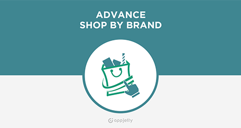 AppJetty Magento Extension: Magento Advance Shop By Brand Extension