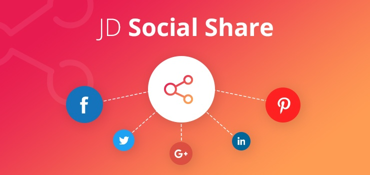 Joomla Extension: JD Social Share
