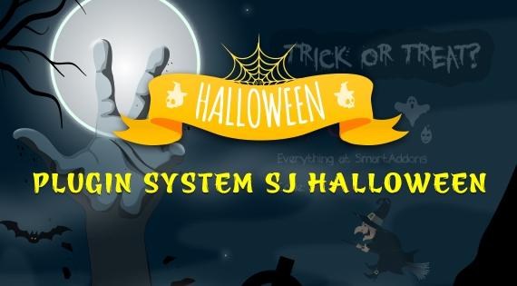SmartAddons Joomla Extension: SJ Halloween - Free Responsive Joomla! Plugin