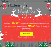 Joomla extension Sj Xmas
