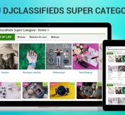 Joomla extension Sj DJClassifieds Super Category