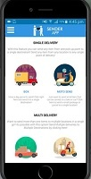 cubetaxi Joomla Extension: Postmates Clone App
