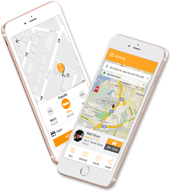 cubetaxi Joomla Extension: Uber Clone