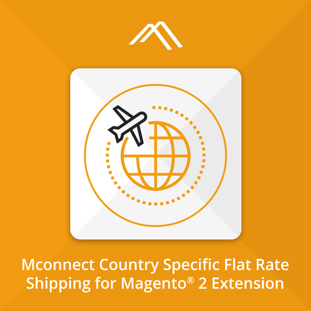 Magento Extension: Mconnect Flat Rate Shipping per Country for Magento® 2