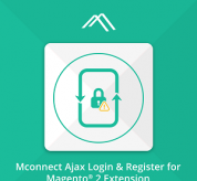 Magento extension Mconnect Advanced Ajax Login Magento 2 Module