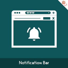 Magento Extension: Magento Notification Bar Extension