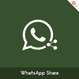 MageComp Magento Extension: Magento 2 WhatsApp Share