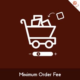 MageComp Magento Extension: Magento 2 Minimum Order Fee