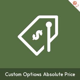 MageComp Magento Extension: Magento 2 Custom Options Absolute Price