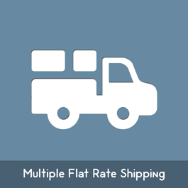 MageComp Magento Extension: Magento Multiple Flat Rate Shipping