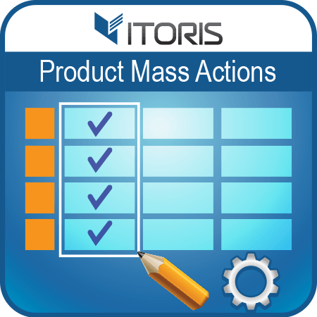 itoris Magento Extension: Magento 2 Mass Product Actions
