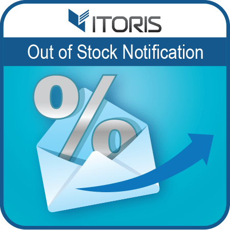 itoris Magento Extension: Magento 2 Out of Stock Notification