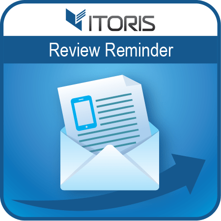 itoris Magento Extension: Magento 2 Review Reminder