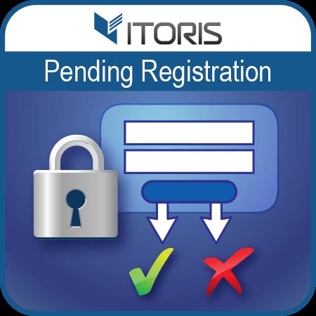 itoris Magento Extension: Magento 2 Pending Registration