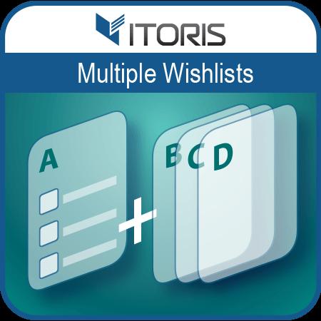 itoris Magento Extension: Magento 2 Multiple Wishlists