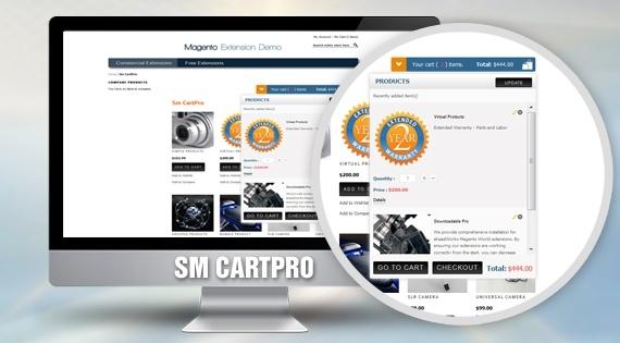 magentech Magento Extension: SM CartPro